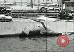 Image of damaged equipment Sicily Italy, 1943, second 10 stock footage video 65675066869