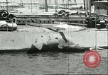 Image of damaged equipment Sicily Italy, 1943, second 12 stock footage video 65675066869