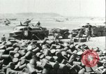 Image of barrels Sicily Italy, 1943, second 10 stock footage video 65675066875