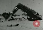 Image of damaged Nazi aircraft Sicily Italy, 1943, second 2 stock footage video 65675066878