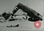Image of damaged Nazi aircraft Sicily Italy, 1943, second 3 stock footage video 65675066878