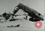 Image of damaged Nazi aircraft Sicily Italy, 1943, second 4 stock footage video 65675066878