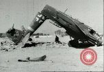 Image of damaged Nazi aircraft Sicily Italy, 1943, second 6 stock footage video 65675066878