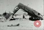 Image of damaged Nazi aircraft Sicily Italy, 1943, second 7 stock footage video 65675066878