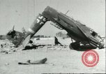 Image of damaged Nazi aircraft Sicily Italy, 1943, second 8 stock footage video 65675066878