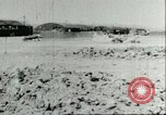 Image of wrecked Macchi MC 202 Sicily Italy, 1943, second 5 stock footage video 65675066881