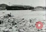 Image of wrecked Macchi MC 202 Sicily Italy, 1943, second 11 stock footage video 65675066881