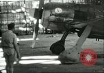 Image of Bullet-riddled Fw-190 aircraft Sicily Italy, 1943, second 6 stock footage video 65675066882