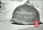 Image of enemy fortifications Sicily Italy, 1943, second 8 stock footage video 65675066904