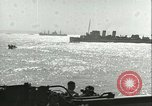 Image of Allied invasion convoy Mediterranean Sea, 1943, second 2 stock footage video 65675066907