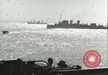Image of Allied invasion convoy Mediterranean Sea, 1943, second 4 stock footage video 65675066907