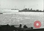 Image of Allied invasion convoy Mediterranean Sea, 1943, second 5 stock footage video 65675066907