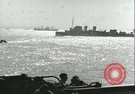 Image of Allied invasion convoy Mediterranean Sea, 1943, second 6 stock footage video 65675066907