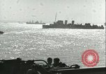Image of Allied invasion convoy Mediterranean Sea, 1943, second 7 stock footage video 65675066907