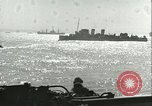 Image of Allied invasion convoy Mediterranean Sea, 1943, second 8 stock footage video 65675066907
