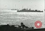 Image of Allied invasion convoy Mediterranean Sea, 1943, second 9 stock footage video 65675066907