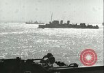 Image of Allied invasion convoy Mediterranean Sea, 1943, second 10 stock footage video 65675066907