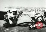 Image of Italian aircraft attacking Allied ships at sea Mediterranean Sea, 1942, second 11 stock footage video 65675066913