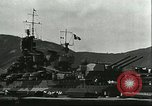 Image of battleship Italia Mediterranean Sea, 1943, second 7 stock footage video 65675066919