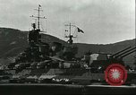 Image of battleship Italia Mediterranean Sea, 1943, second 8 stock footage video 65675066919