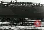 Image of battleship Italia Mediterranean Sea, 1943, second 10 stock footage video 65675066919