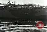 Image of battleship Italia Mediterranean Sea, 1943, second 11 stock footage video 65675066919