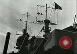 Image of battleship Italia Mediterranean Sea, 1943, second 12 stock footage video 65675066919