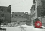 Image of bomb damage Palermo Italy, 1943, second 2 stock footage video 65675066930