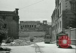 Image of bomb damage Palermo Italy, 1943, second 4 stock footage video 65675066930