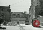 Image of bomb damage Palermo Italy, 1943, second 6 stock footage video 65675066930
