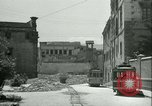 Image of bomb damage Palermo Italy, 1943, second 11 stock footage video 65675066930
