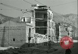 Image of bomb damage Palermo Italy, 1943, second 12 stock footage video 65675066931