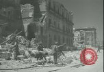 Image of Allied bombing Palermo Italy, 1943, second 6 stock footage video 65675066940