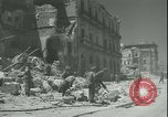 Image of Allied bombing Palermo Italy, 1943, second 8 stock footage video 65675066940