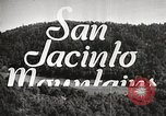 Image of Mount San Jacinto State Park California United States USA, 1935, second 4 stock footage video 65675066951