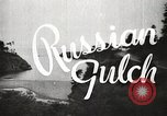 Image of Russian Gulch State Park California United States USA, 1935, second 1 stock footage video 65675066957