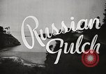 Image of Russian Gulch State Park California United States USA, 1935, second 4 stock footage video 65675066957