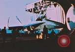 Image of F-18 A Hornet aircraft Atlantic Ocean, 1986, second 2 stock footage video 65675066960