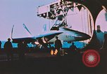 Image of F-18 A Hornet aircraft Atlantic Ocean, 1986, second 3 stock footage video 65675066960