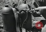 Image of Japanese weapons Guadalcanal Solomon Islands, 1944, second 1 stock footage video 65675066964