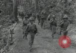 Image of United States Marines Guadalcanal Solomon Islands, 1944, second 8 stock footage video 65675066965
