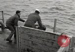 Image of radioactive waste material disposal Atlantic Ocean, 1959, second 6 stock footage video 65675066991