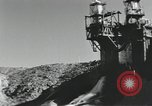 Image of rocket engine explodes on test stand California United States USA, 1951, second 3 stock footage video 65675067046