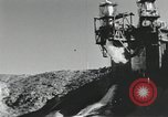 Image of rocket engine explodes on test stand California United States USA, 1951, second 9 stock footage video 65675067046