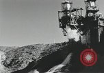 Image of rocket engine explodes on test stand California United States USA, 1951, second 10 stock footage video 65675067046