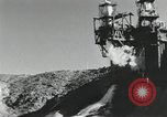 Image of rocket engine explodes on test stand California United States USA, 1951, second 11 stock footage video 65675067046