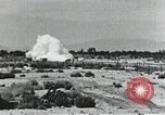 Image of Rocket sled disintegrates during run California United States USA, 1951, second 8 stock footage video 65675067047