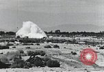 Image of Rocket sled disintegrates during run California United States USA, 1951, second 9 stock footage video 65675067047