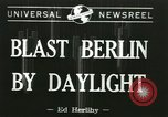 Image of Eighth Air Force Berlin Germany, 1944, second 1 stock footage video 65675067063