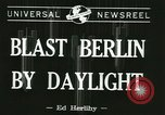 Image of Eighth Air Force Berlin Germany, 1944, second 2 stock footage video 65675067063